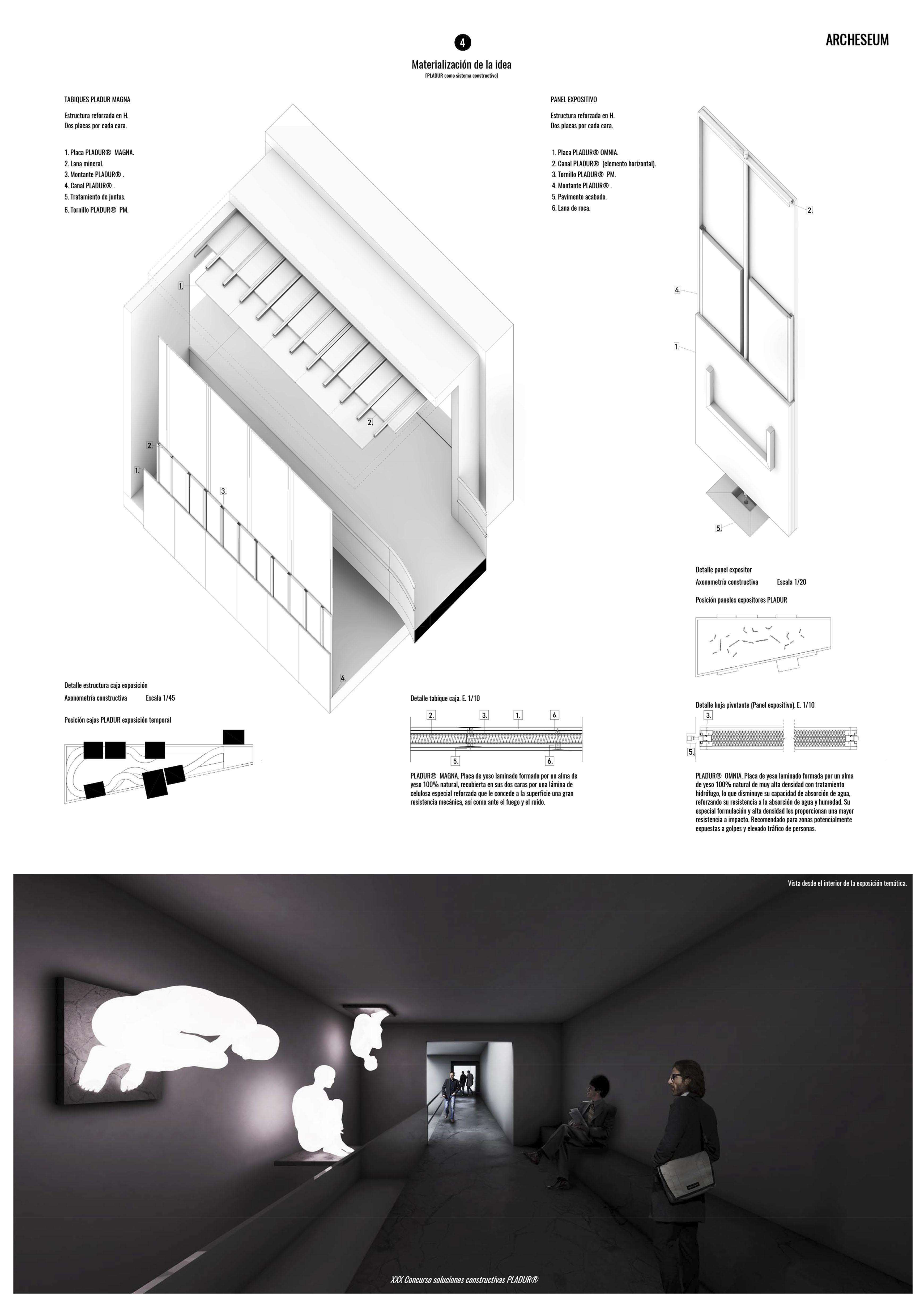 ARCHESEUM. XXX Concurso de soluciones constructivas PLADUR. (Pan